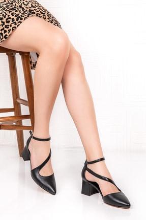 Gondol Içi Dışı Hakiki Deri Topuklu Ayakkabı