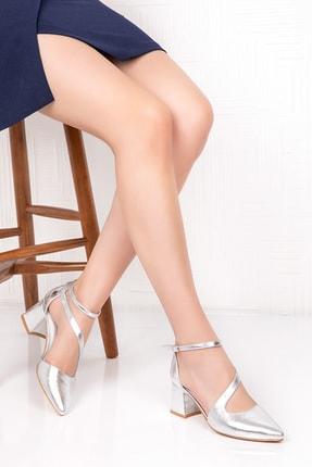 Gondol Kadın Içi Dışı Hakiki Deri Topuklu Ayakkabı