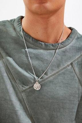 New Obsessions Gümüş Madalyon Kolye  TM-1285