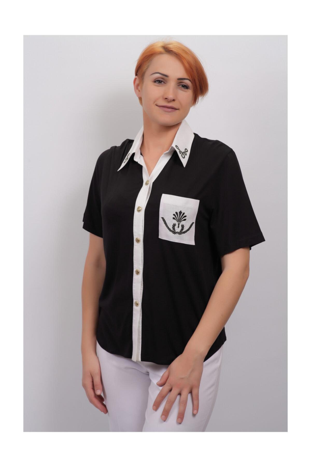 Sude Kadın Kagi Penye Bluz 2101 1