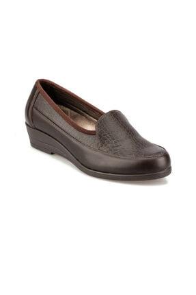 Polaris 5 Nokta 92.101023.Z Kahverengi Kadın Dolgu Topuklu Ayakkabı 100428153