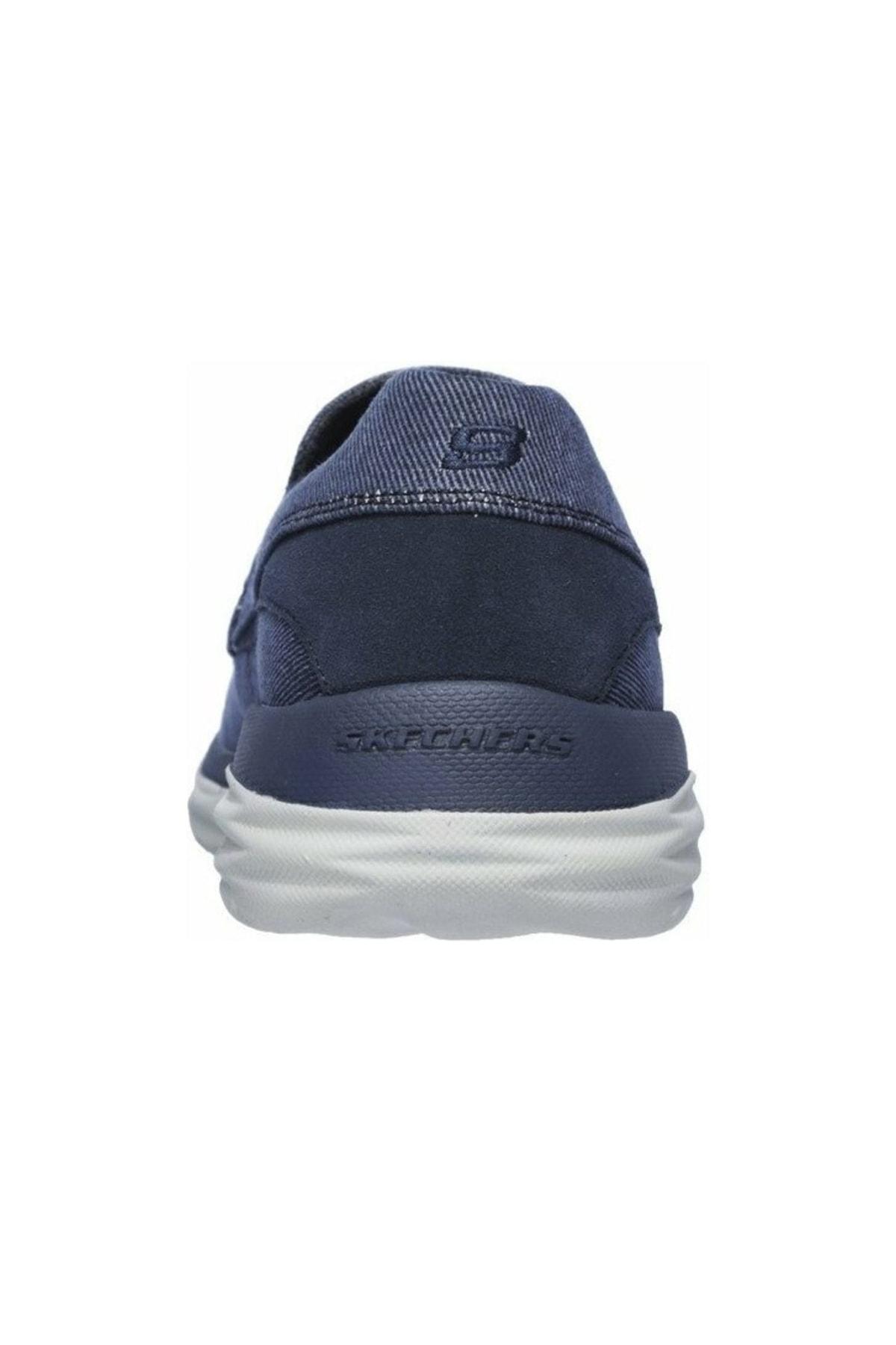 SKECHERS HARSEN- ALONDRO Erkek Mavi Günlük Ayakkabı 65605 BLU 2