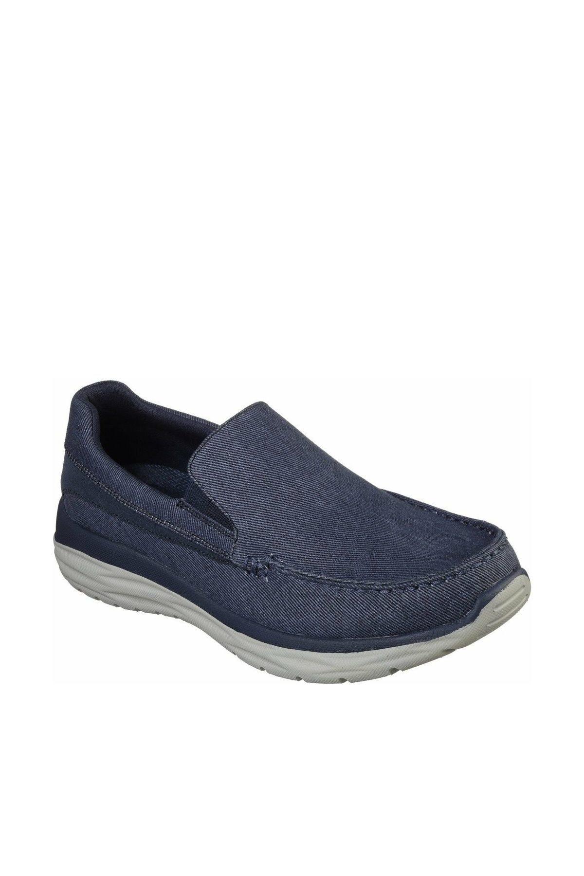 SKECHERS HARSEN- ALONDRO Erkek Mavi Günlük Ayakkabı 65605 BLU 1