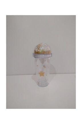 Cooker Yıldızlı Akrilik Bardak 380 Ml-milkshake Bardağı