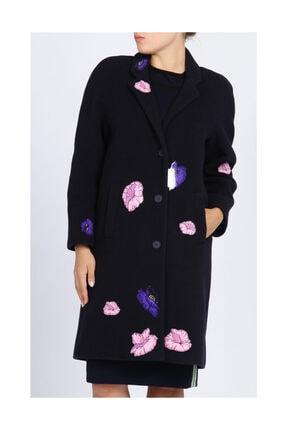 Christopher Kane Kadın Lacivert Palto Crkco050P5W14-Navy
