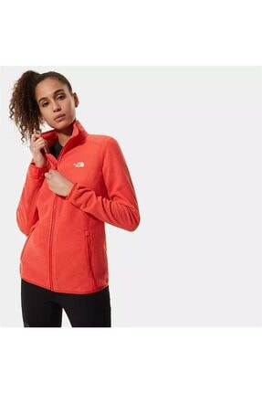 THE NORTH FACE W 100 Glacier Full Zip Kadın Mont