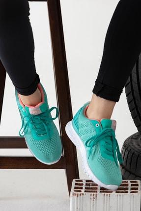 MP yeşil Kadın Sneaker MODAELYSA0401