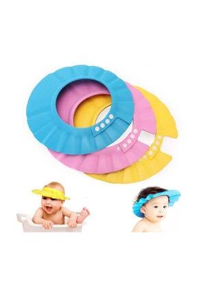 Buffer Ayarlanabilir Bebek Banyo Şapkası Mavi