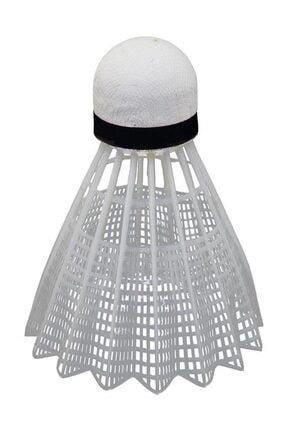 Delta 6 Adet Mantar Başlı Beyaz Badminton Topu (Özel Kutusunda)