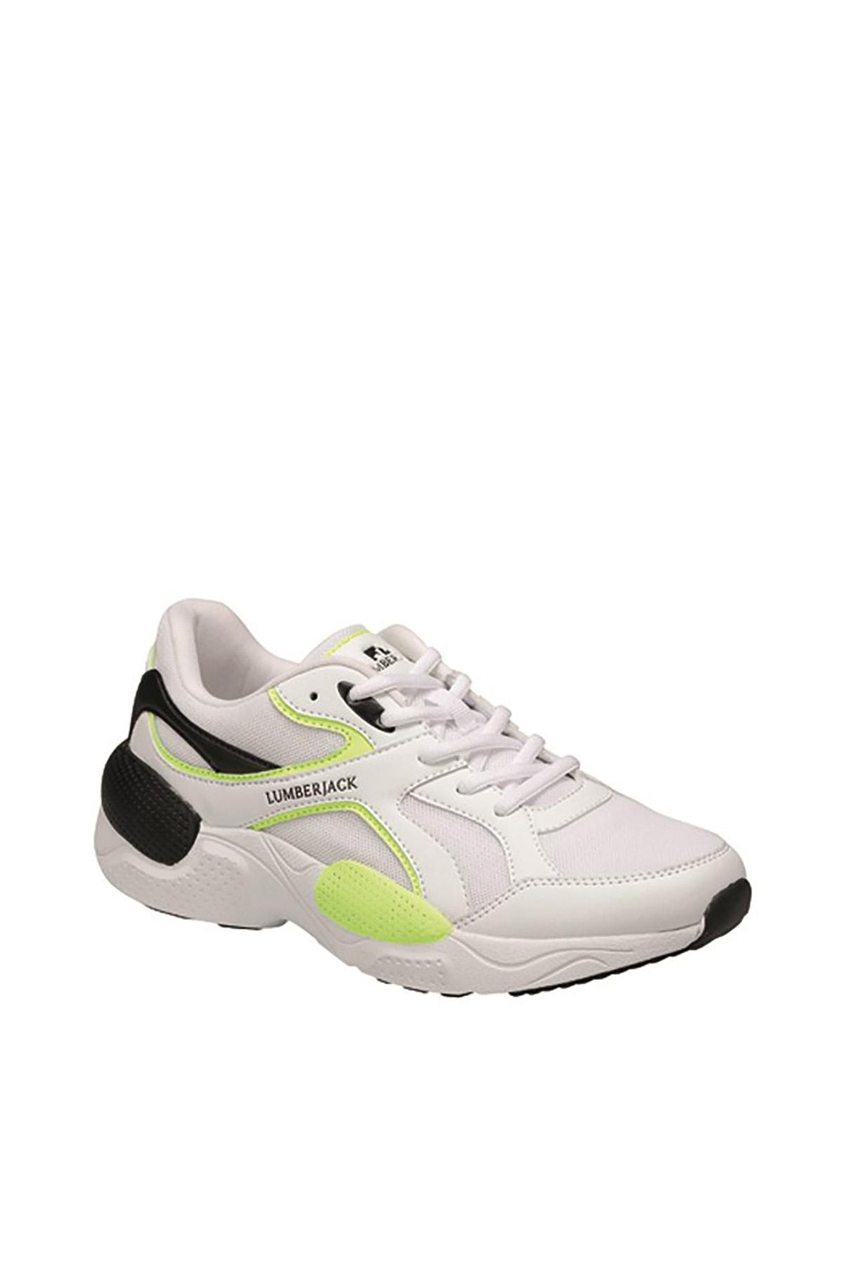 lumberjack NEWTON Beyaz Erkek Koşu Ayakkabısı 100497672 1