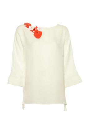 İpekyol Kadın Beyaz Bluz IS1190006098