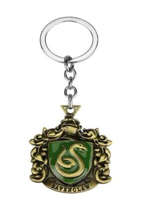 AlpCollection Harry Potter Slytherin Hogwarts Metal Orjinal Kutulu Anahtarlık