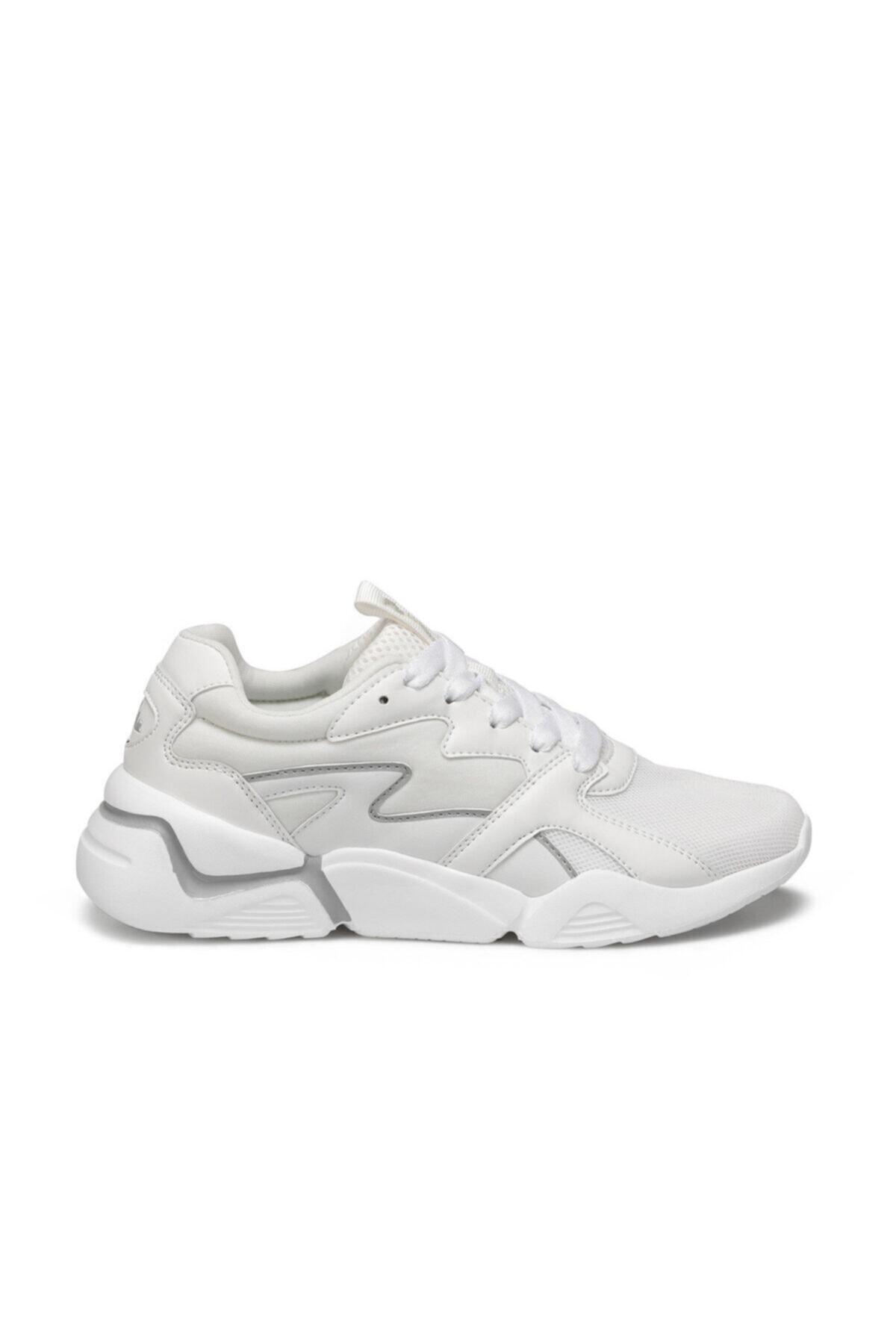 lumberjack Puzzle Beyaz Kadın Sneaker Ayakkabı 2