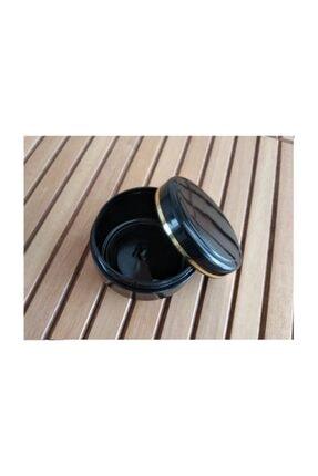 demethome Altın Şerit Boş Kozmetik-Krem-Pomat Kutusu Plastik Krem Kavanozu 10 Adet 100 ml