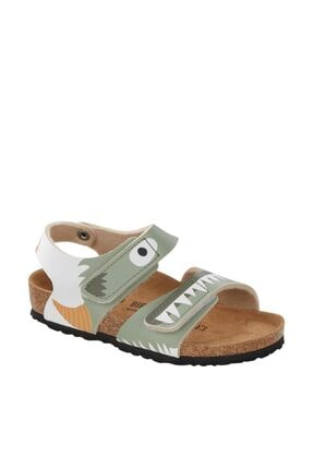 Birkenstock Palu Kıds Bfdd Yeşil Sandalet 01015635