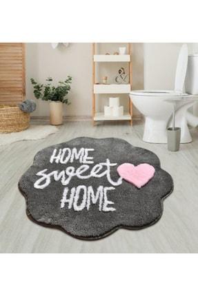 Vivense Home Sweet Home Çap Banyo Halısı-pembe