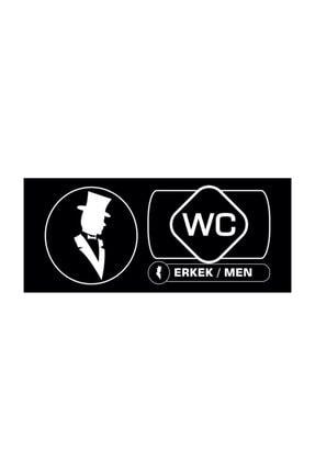 2M Tabela 35cmx15cm 1 Paket 1 Kadın Wc 1 Erkek Wc