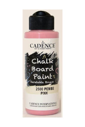 Cadence Chalkboard Paint 120ml Kara Tahta Boyası 2500 Pembe