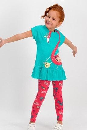 ROLY POLY Pelican Aqua Kız Çocuk Tayt Takım