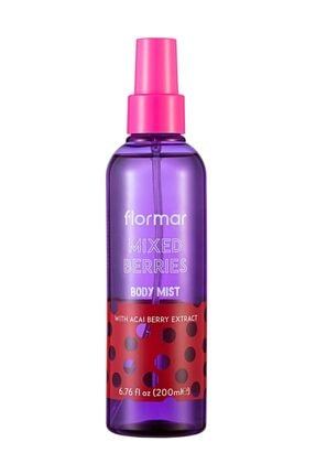 Flormar Vücut Spreyi - Body Mist 01 Mixed Berries 8690604493395