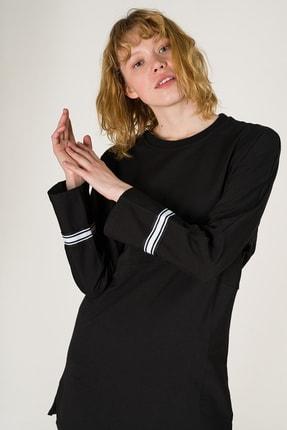 Runever Kadın Siyah Tunik Takım