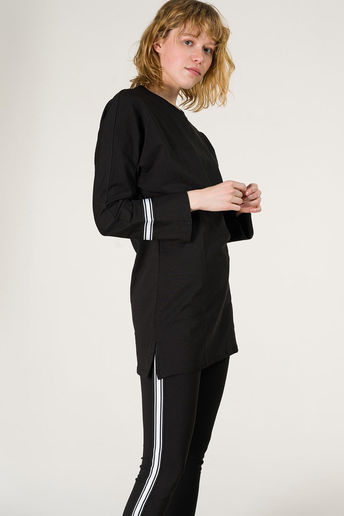 Runever Kadın Siyah Tunik Takım 2