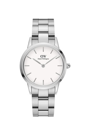 Daniel Wellington Kadın Kol Saati Iconic Link 32mm Silver White