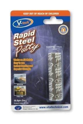 V-tech Vt 138 Rapid Putty Takviyeli Epoksi Macun Metal Yapıştırıcı 56 g
