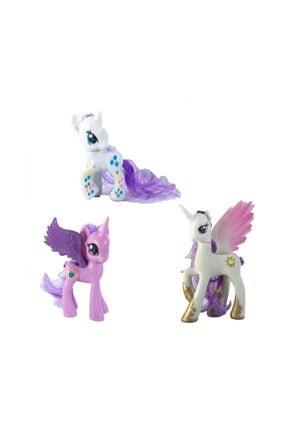 Crazy Baby Pony Aksesuarlı 3'lü Set - 1258c
