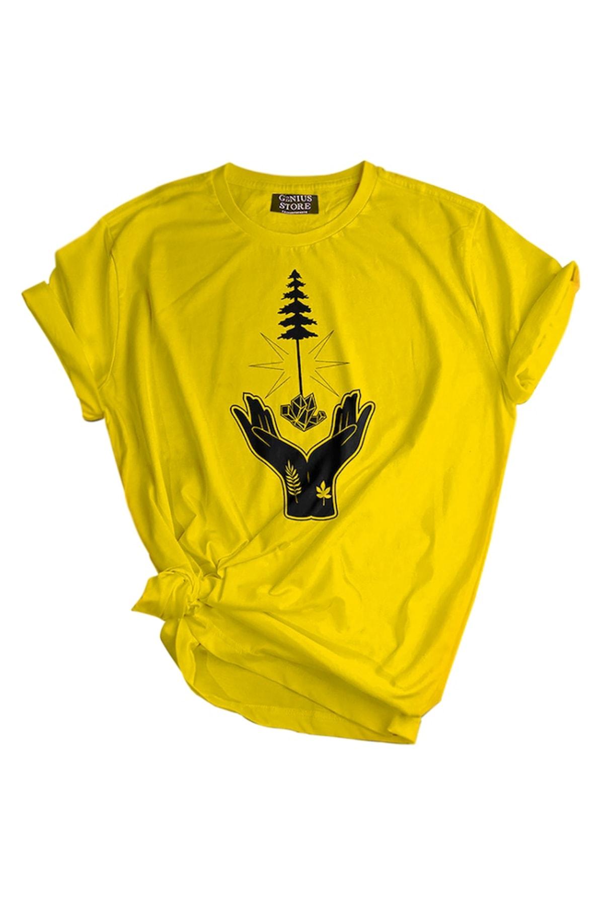 GENIUS Genıus Store Kadın Tişört Outdoor Baskılı T-shirt 2
