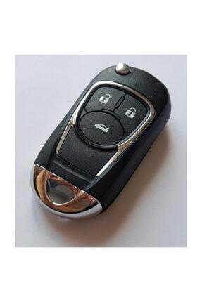 Skilit Chevrolet Çevirici Kumanda Kabı 3 Buton Orijinal Logolu