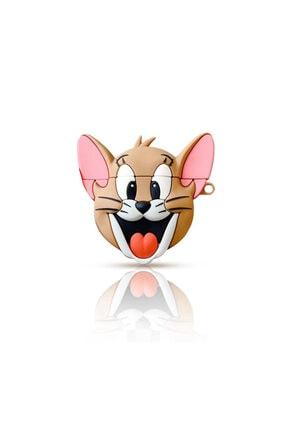 Kılıfsiparis Airpods 2. Nesil Kılıf Apple Airpods Kulaklık Koruma Silikon Jerry Disney Serisi