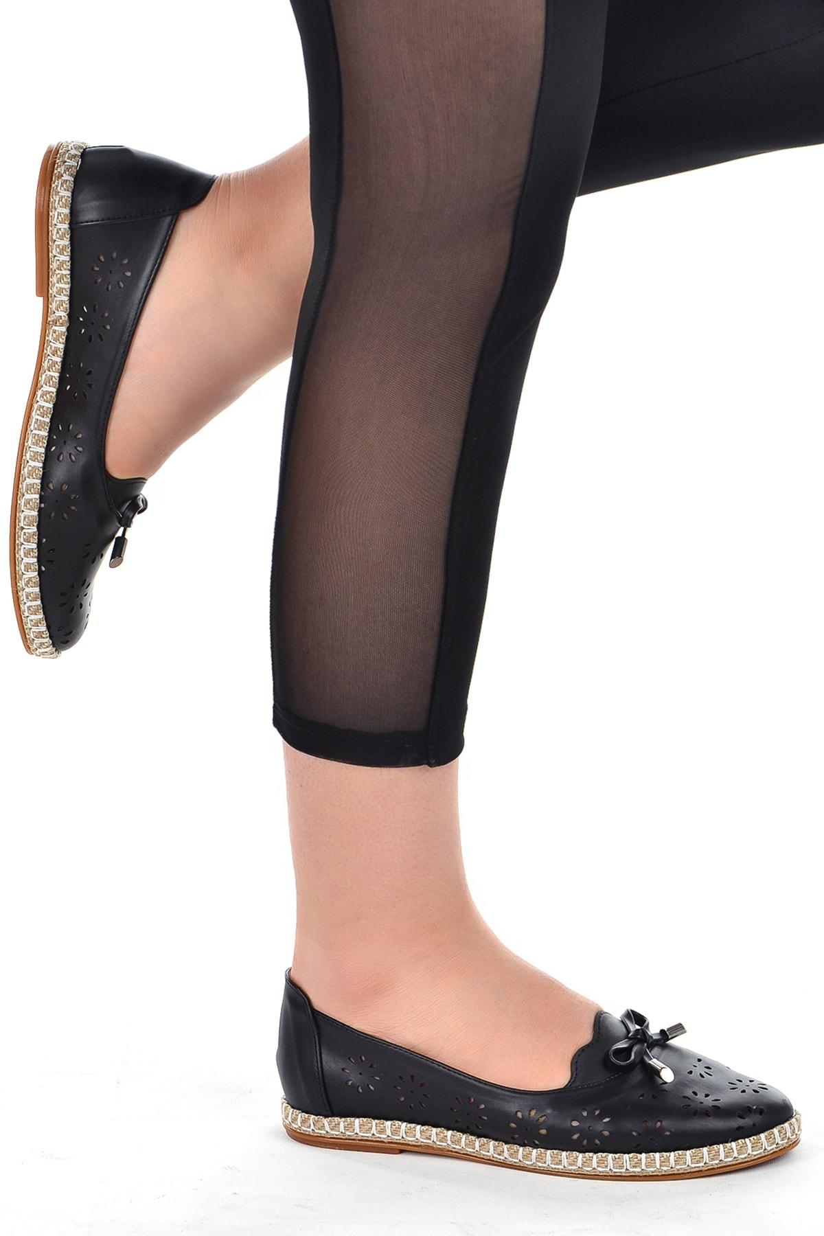 Ayakland 139-45 Günlük Ortopedik  Babet Ayakkabı 2