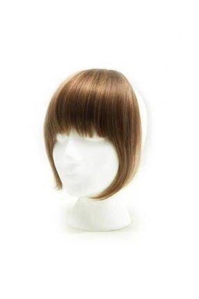 İsmet peruk Takma Kahkül Açık Kumral Gerçek Saç