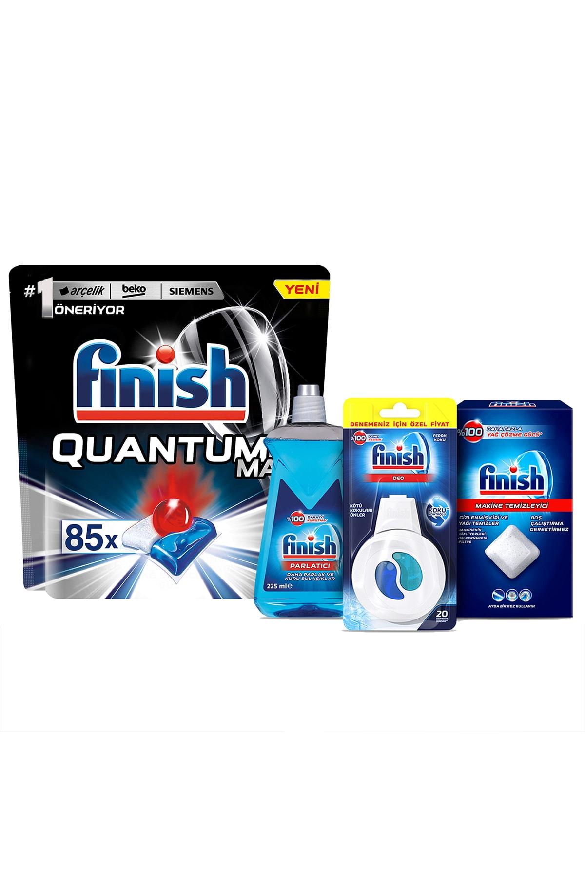 Finish Quantum Max 85 Kapsül Bulaşık Makinesi Deterjanı + Performans Deneme Seti 2