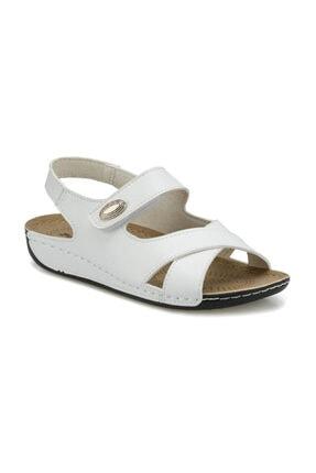 Polaris Beyaz Kadın Sandalet 161148.Z