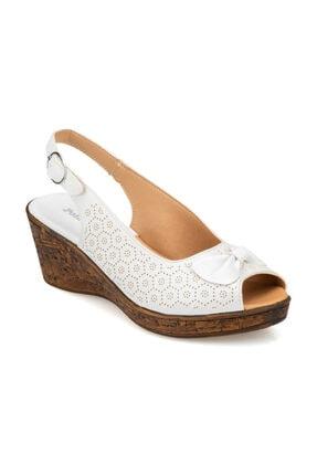 Polaris Beyaz Kadın Sandalet 91.150788.Z