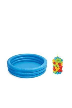 ELBA Havuz + Oyun Havuz Topları 6 Cm 300 Lü Filede