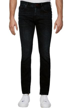 Tommy Hilfiger Erkek Straight Denton Str Burke Blue Jeans MW0MW12663