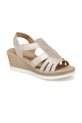 Polaris 91.150934.Z Altın Kadın Sandalet 100379912