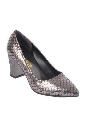 Maje Platin Kadın Topuklu Ayakkabı