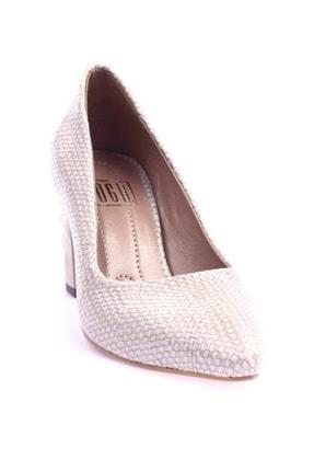 DGN Ten Hasır Kadın Topuklu Ayakkabı 1101-1609
