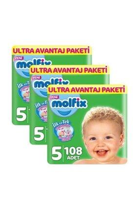 Molfix 5 Beden 324 Adet Bebek Bezi Ultra Avantaj Paketi