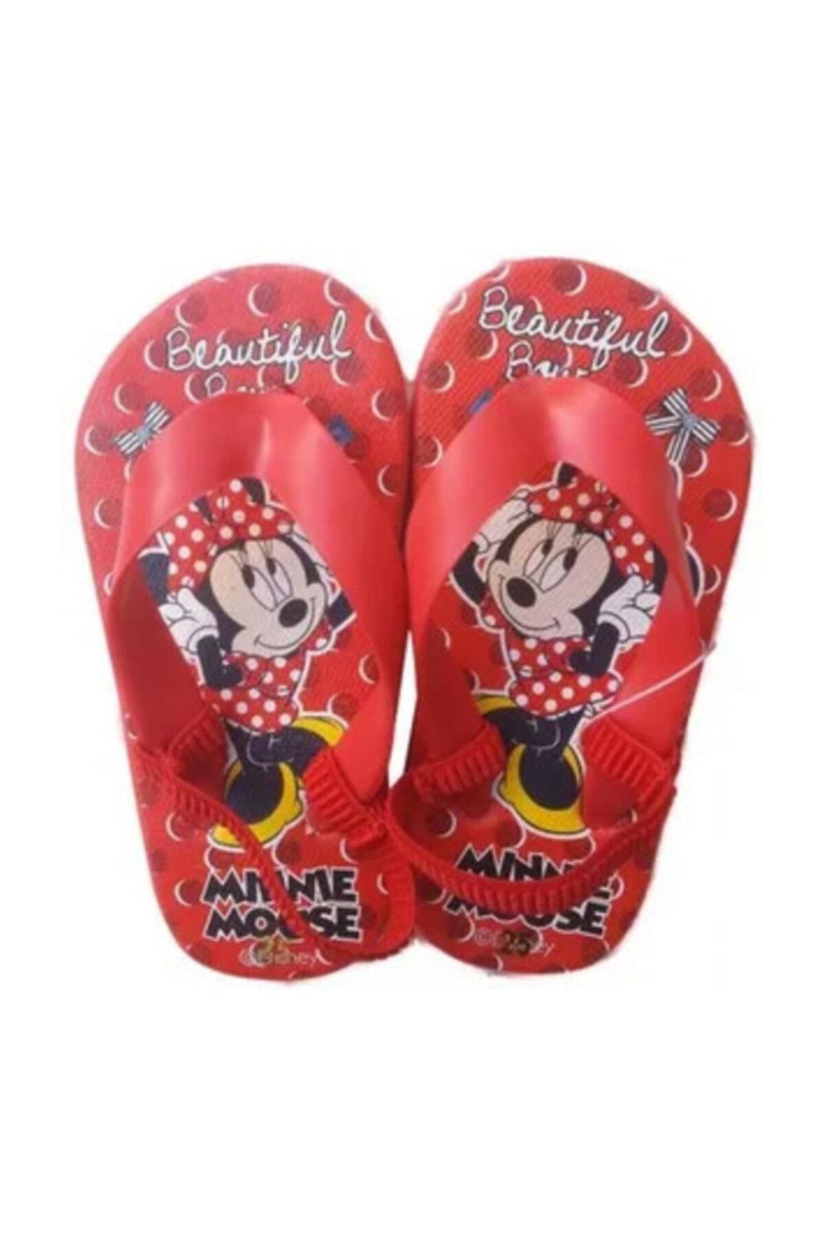 Minnie Mouse Yazlık Çocuk Terlik 1