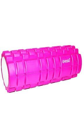 AVESSA Pembe Foam Roller Kısa 14x33 cm