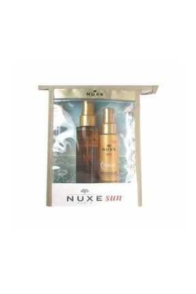Nuxe Sun Spf10 Tanning Oil Low Protection 150ml Set