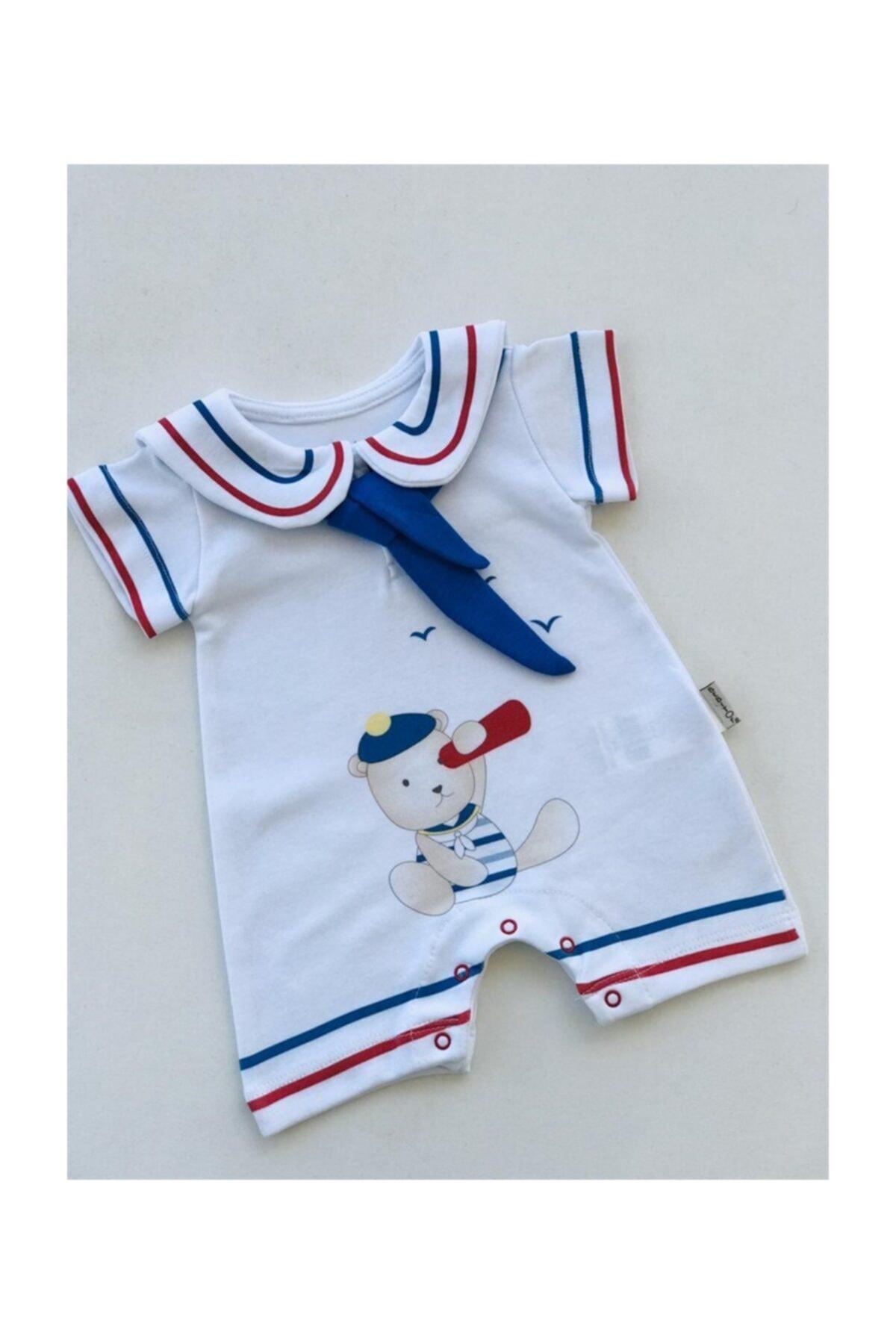 Bebitof Baby Bebitof Denizci Kısa Tulum 1