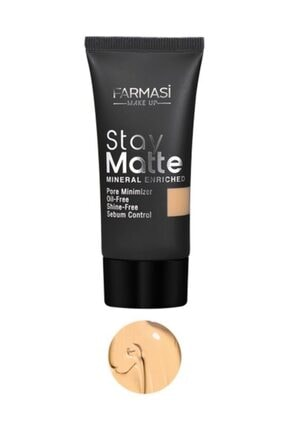 Farmasi Fondöten - Stay Matte Foundation Light Beige 09 30 ml 8690131772994