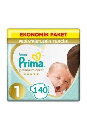 Prima Premium Care 1 Beden (70x2) 140 Adet Yenidoğan Bebek Bezi