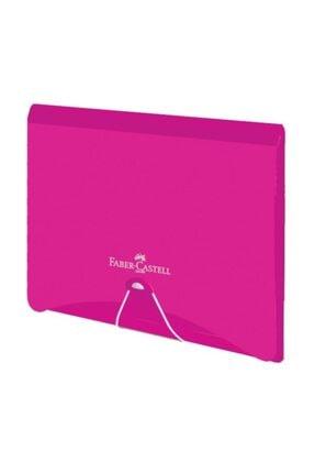 Faber Castell Lastikli Dosya Neon Kırmızı 5075210101000